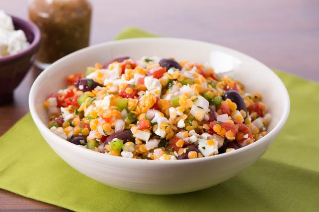 Salade grecque aux lentilles Image 1