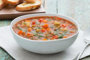 Hearty Lentil & Vegetable Soup