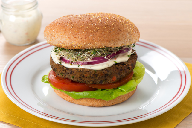 Ranch Veggie Burger Image 1