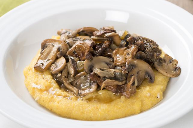 Ragoût aux champignons sauvages et à la polenta  Image 1
