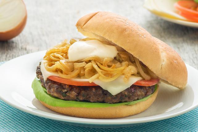 Burgers aux oignons à la française Image 1