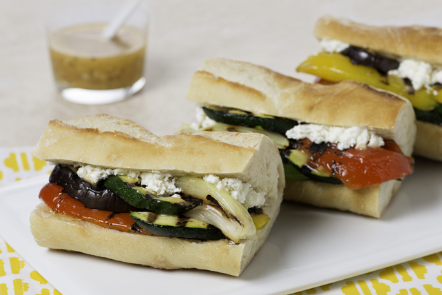 Grilled Vegetable Baguette Image 1