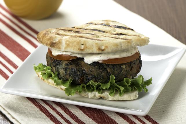 Mediterranean Chicken Burger Image 1