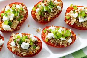 Southwest Grilled Tomatoes