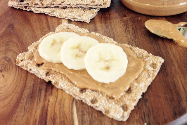 Peanut Butter and Banana Toppers Image 1