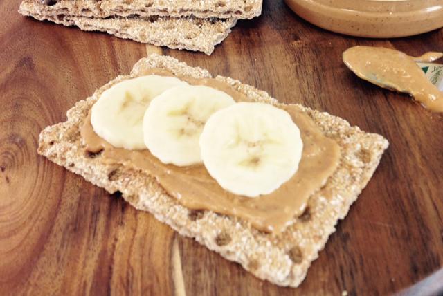 Pains croustillants au beurre d'arachide et à la banane Image 1