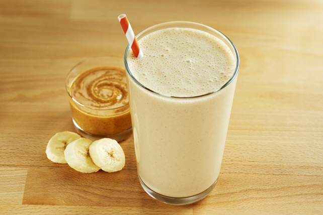 Peanut Butter Banana Boost Smoothie Image 1