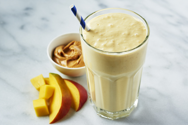 Mango Mayhem Peanut Butter Smoothie Image 1