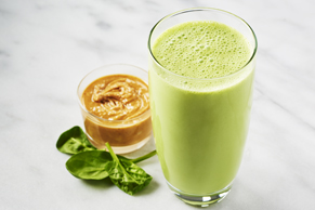 Go-Go-Green Peanut Butter Smoothie