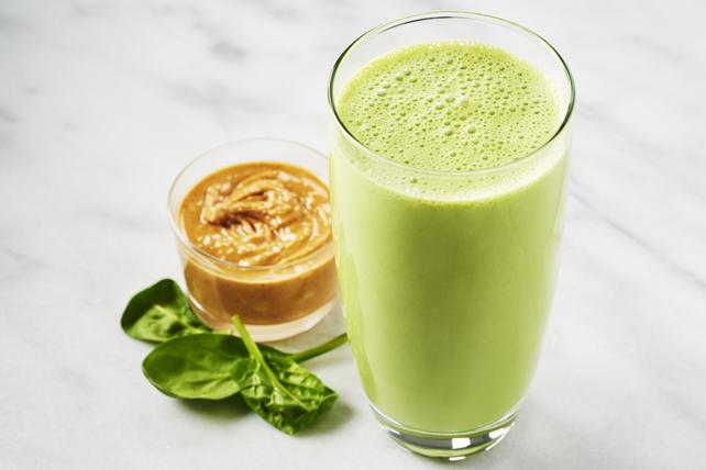 Lait fouetté vraiment vert au beurre d'arachide Image 1