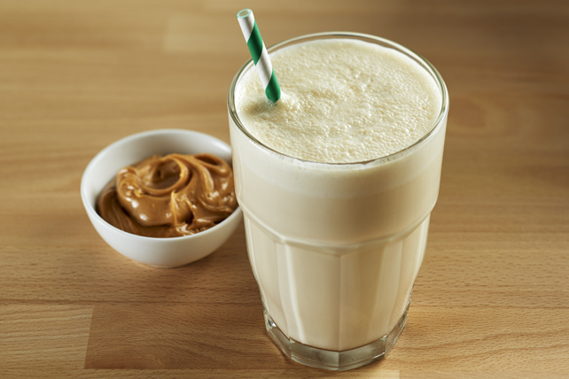 Protein Peanut Butter Smoothie Image 1