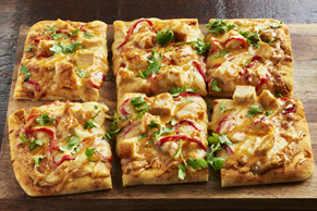 Shareable Thai Chicken Flatbread