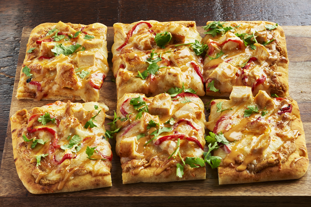 Shareable Thai Chicken Flatbread Image 1