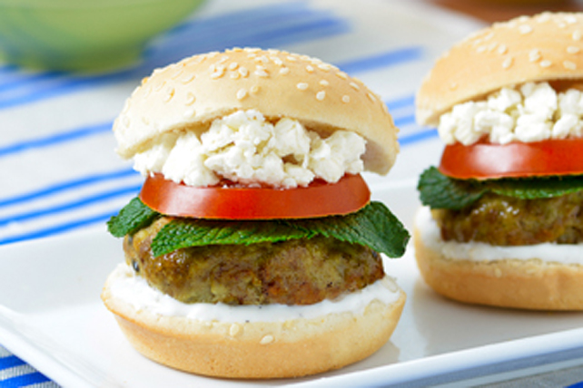 Tzatziki Lamb Sliders