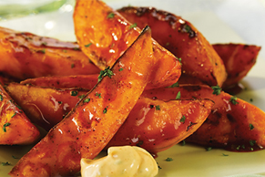 Spicy Sweet Potato Spears