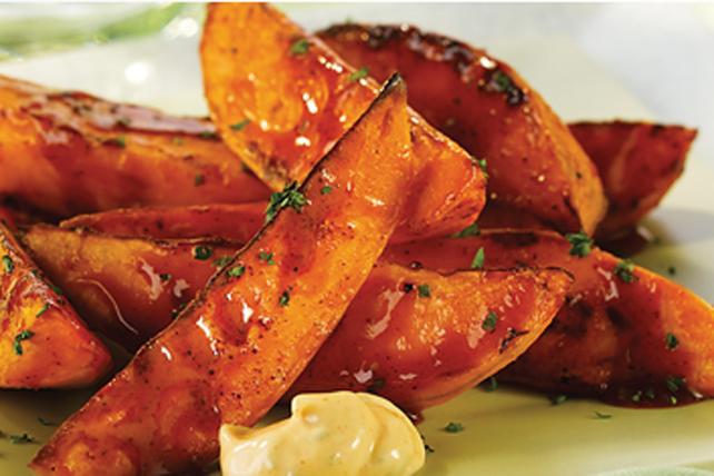 Quartiers de patate douce épicés Image 1