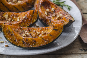 Maple-Grilled Squash