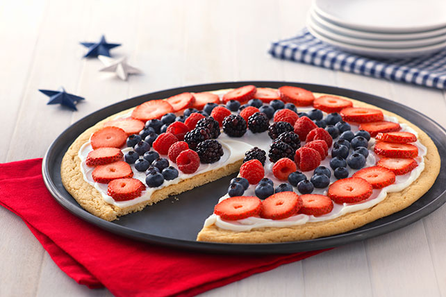 Fourth of July Fruit Pizza Image 1