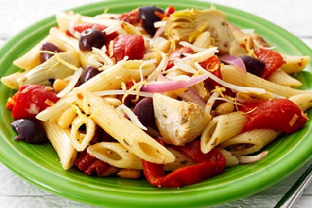 Mediterranean Pantry Pasta Salad Image 1
