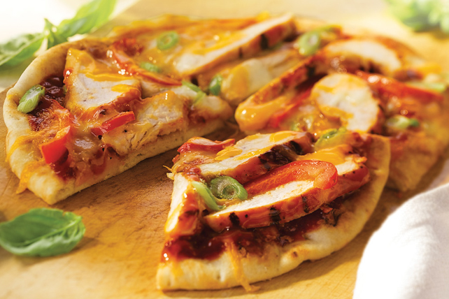 Mini-pizzas au poulet grillé Image 1