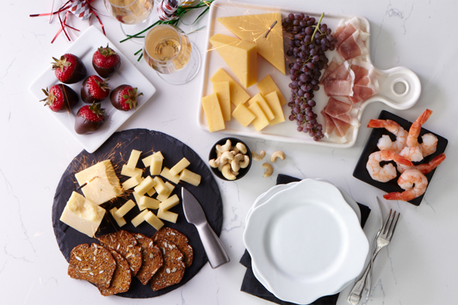 New Year's Eve Cheese Board Image 1
