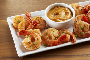 Thai Shrimp with Peanut Dipping Sauce