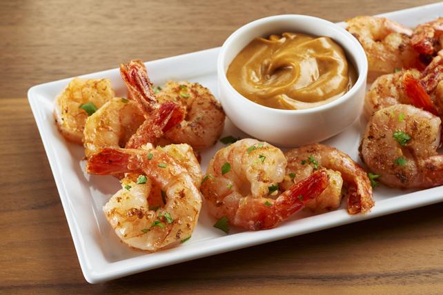 Crevettes thaïes et sauce aux arachides Image 1