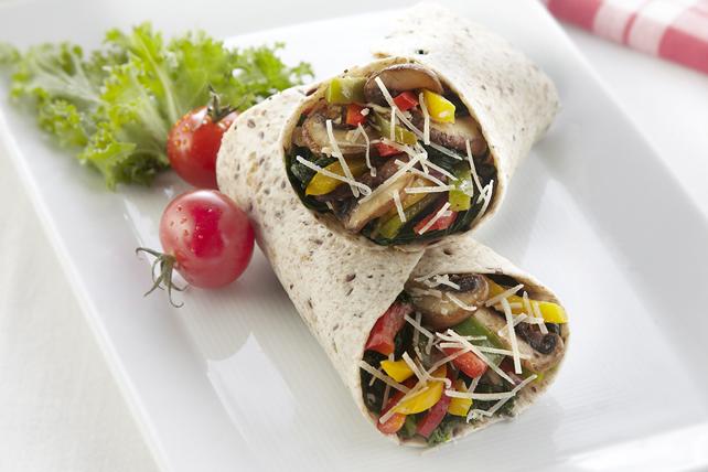 Caesar Mushroom & Sweet Pepper Wrap Image 1