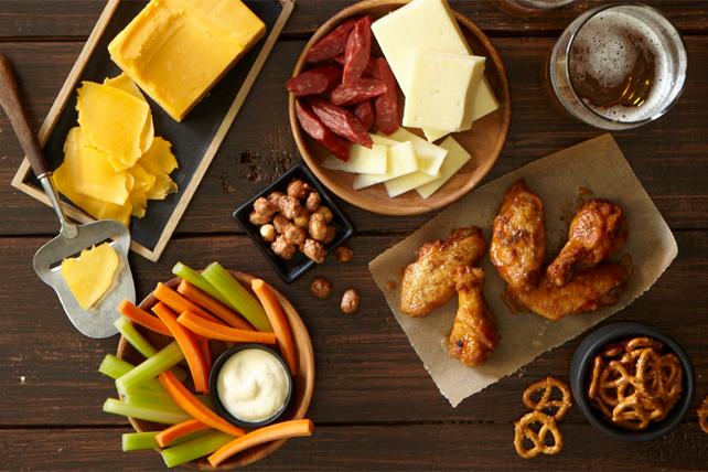 Plateau à fromages pour le jour du match Image 1