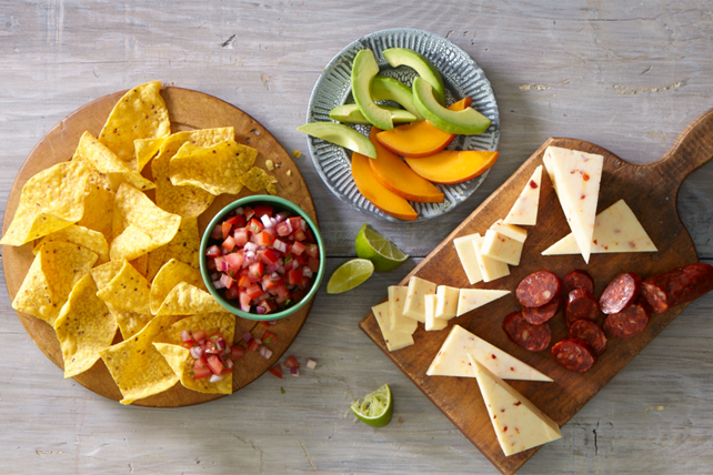 Mexican-Inspired Cheese Board