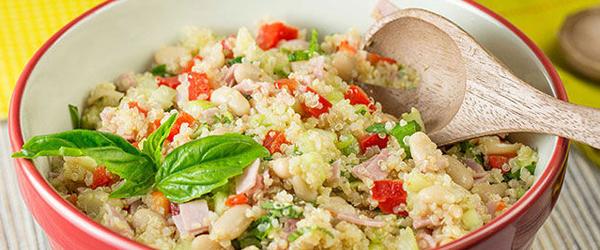 Crunchy Quinoa & Cucumber Salad