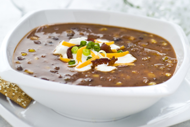 Zesty Corn & Black Bean Chowder Image 1