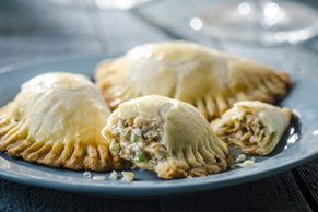 Jerk Chicken Pastries