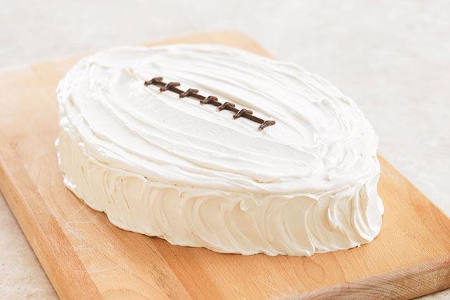 Gâteau en forme de ballon de football Image 1