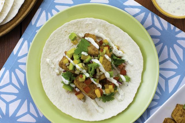 Tacos au poisson, au concombre et à l'aneth Image 1