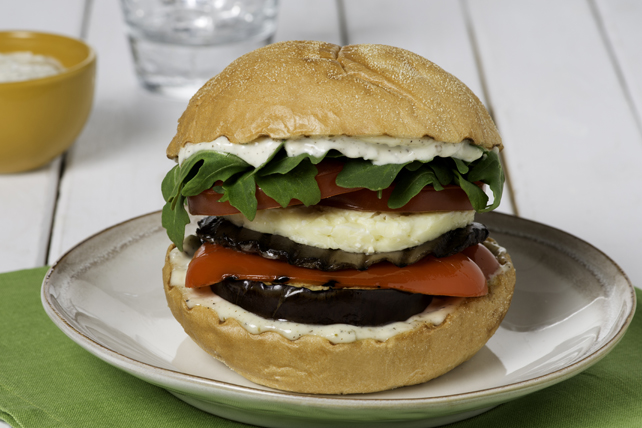 Burger au portobello Image 1