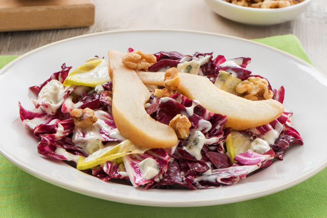 Radicchio & Pear Salad with Blue Cheese Image 1