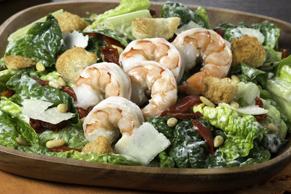 Tuscan Caesar Salad with Shrimp