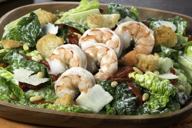 Salade César aux crevettes à la toscane Image 1