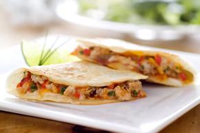 Quesadillas au poulet et au fromage Tex Mex
