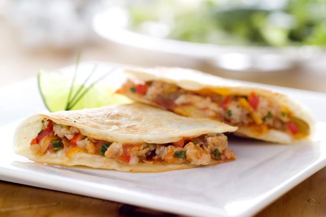Quesadillas au poulet et au fromage Tex Mex Image 1