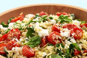 Grilled Tomato Pasta Salad