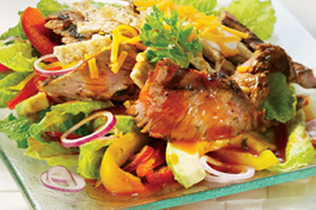 Salade façon fajita au bifteck grillé Image 1
