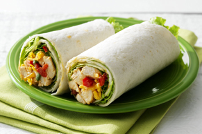 Smokehouse Chicken Salad Wraps