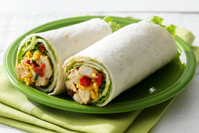 Smokehouse Chicken Salad Wraps Image 1
