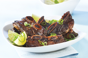 Teriyaki Grilled Beef Short Ribs