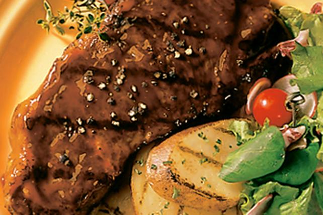 Biftecks aux grains de poivre Image 1
