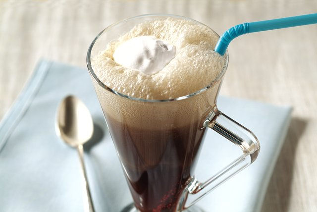 Black Cow Root Beer Float