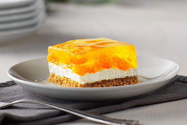 Gâteau au fromage pétillant et sans cuisson aux agrumes Image 1