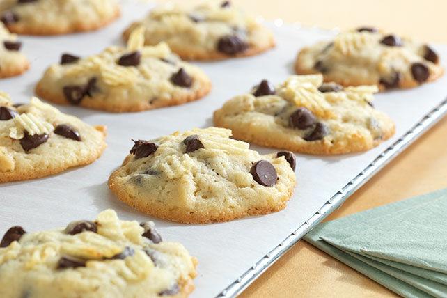 Biscuits au chocolat et aux croustilles Image 1